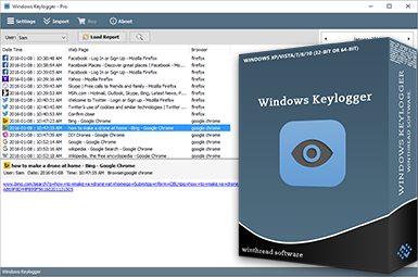Windows Keylogger Box Logo